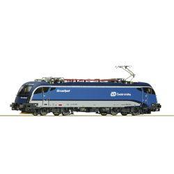 Roco 73219 Villanymozdony Rh 1216 249-3 Taurus, Railjet, CD VI, hangdekóderrel