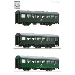 Roco 74071 Reko személykocsi szett, DR IV, 2. készlet