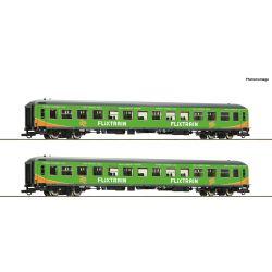 Roco 74090 Személykocsi szett 2.o. Bimz, Flixtrain VI