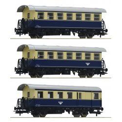 Roco 74094 Személykocsi szett Spantenwagen, ÖBB IV
