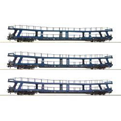 Roco 74097 Autószállító szett Dm/DDm, Christoforus-Express, DB IV