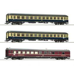 Roco 74181 Személykocsi szett D 229 Johann Strauss, DB IV, 1. készlet