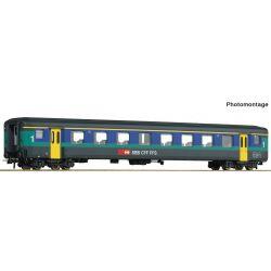 Roco 74565 Gyorsvonati személykocsi 1.o. A, EW II, SBB V-VI