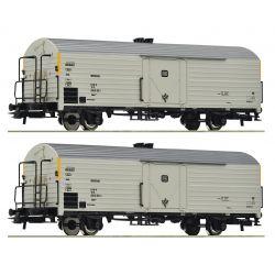 Roco 76034 Hűtőkocsi készlet Ibbks 398, DB IV