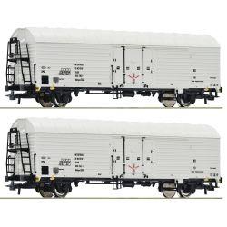 Roco 76035 Hűtőkocsi készlet Ibbhqss, DR IV