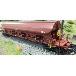 Roco 76404 Szétnyíló tetejű kocsi Tadgs, Rail Cargo Hungaria VI