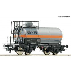 Roco 76511 Tartálykocsi fékhíddal, klórszállító, VTG, DB IV