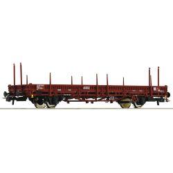 Roco 76525 Pőrekocsi rakoncákkal Ks, FS IV-V