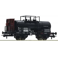Roco 76606 Tartálykocsi, fékházzal, vegyianyag-szállító, DRG II