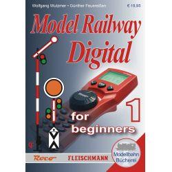 Roco 81391 Kézikönyv: Digitális vasútmodellezés kezdőknek, 1. rész