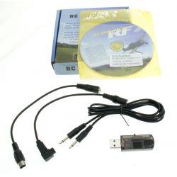 RC szimulátorprogram, USB kábellel