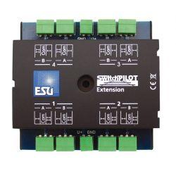 ESU 51801 Switch Pilot Extension, bővítőmodul V1.0, 4 db relékimenettel