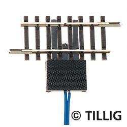 Tillig 83156 Megszakítósín 41,5 mm, két csatlakozóval