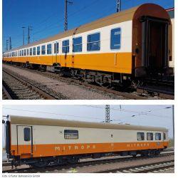 """Tillig 01021 Személykocsi szett """"Museums-Städteexpress Erfurter Bahnservice GmbH 1"""" VI"""