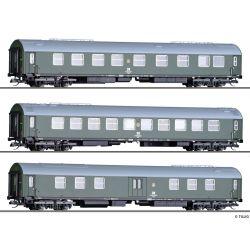 Tillig 01808 Személykocsi szett, 'Salonwagenzug 3', DR IV
