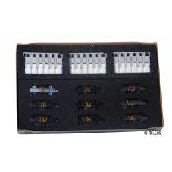 Tillig 01837 Elektromos kiegészítők ágyazatos sínrendszerhez