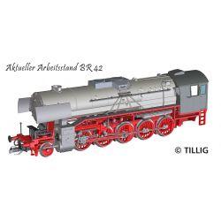 Tillig 02060 Gőzmozdony BR 42, DR III