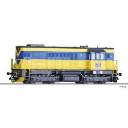 Tillig 02764 Dízelmozdony Rh 740 450-2, OKD Doprava a.s. (CZ) V