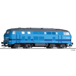 """Tillig 04709 Dízelmozdony BR 218 """"TT-Express"""", Start-kivitel"""