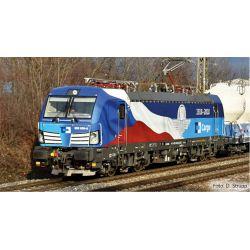 """Tillig 04832 Villanymozdony BR 383 009-8 Vectron, """"100 Jahre Tschechien"""", CD Cargo VI"""