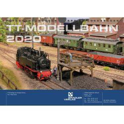 Tillig 09574 2020-as naptár, TT-s modellekkel