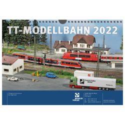 Tillig 09580 TT-s naptár 2022 (Bradler Verlag)