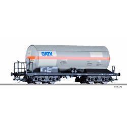 Tillig 15008 Tartálykocsi gázszállító Zags, napvédő-tetővel, GATX Rail Polska Sp.z.o.o. VI