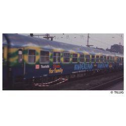 Tillig 16215 Személykocsi (rendezvénykocsi) WGmz 825, Touristikzug, DB AG V