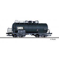 Tillig 17432 Tartálykocsi fékhíddal Zaes, GATX VI