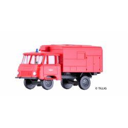 Tillig 19029 Tűzoltósági teherautó Robur LO 1801