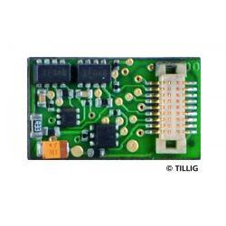 Tillig 66037 Mozdonydekóder, Next 18 (NEM 662) H0e gőzmozdonyokhoz (02993, 02994)