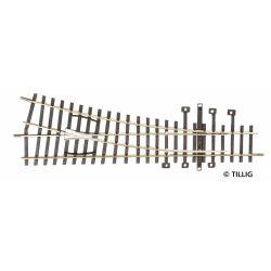 Tillig 82321 Egyenes váltó 15', R600, jobbos