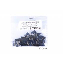Tillig 82502 Sínrögzítő vágánykötés 50 db, barnított