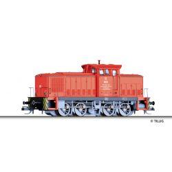 Tillig 96325 Dízelmozdony V 60 D, Werklok 02, PBSV-Verkehrs-GmbH V