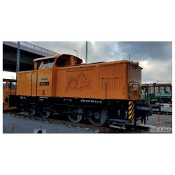 Tillig 96326 Dízelmozdony BR 106 623-2, Bahnbetriebswerk Kamenz, ITL VI