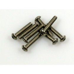 Titanium csavar 3*16 gömbfejü