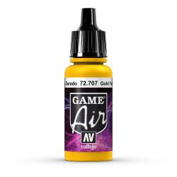 Vallejo Game Air 72707 Gold Yellow, 17 ml