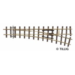 Tillig 85637 Váltó EW 18' bal H0e