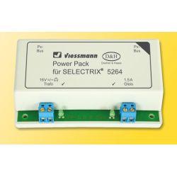 Viessmann 5264 Power Pack booster SELECTRIX® digitális rendszerhez