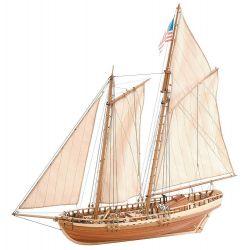 Virginia 1819 fahajó makett