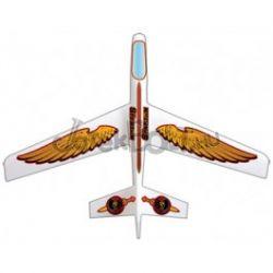 Spartan vitorlázó repülőmodell fehér