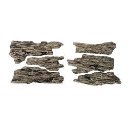 Woodlands C1136 Ready Rocks 'Shelf' sziklák, 6 db