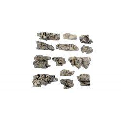 Woodlands C1139 Ready Rocks 'Outcroppings' sziklák, 13 db