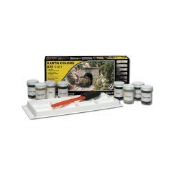 Woodlands C1215 Earth Colors Kit Terepszínező készlet, 8 db-os