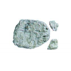 Woodlands C1235 Rock Mold szikla öntőforma, 'Laced Face Rock'