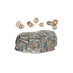 Woodlands C1236 Rock Mold szikla öntőforma, 'Classic Rock'