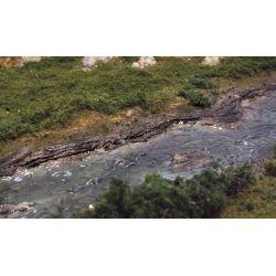 Woodlands C1245 Rock Mold szikla öntőforma, 'Creek Bank'
