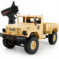WPL B-14 4x4 1:16 Army Truck - homoksárga RTR
