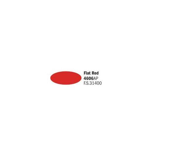 Italeri 4606AP matt piros akril makett festék