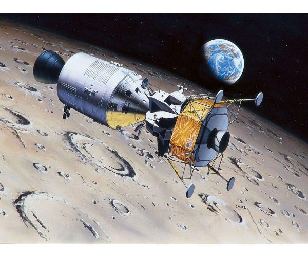 03700 REVELL Columbia + Eagle ( Apollo 11 ) 1:96